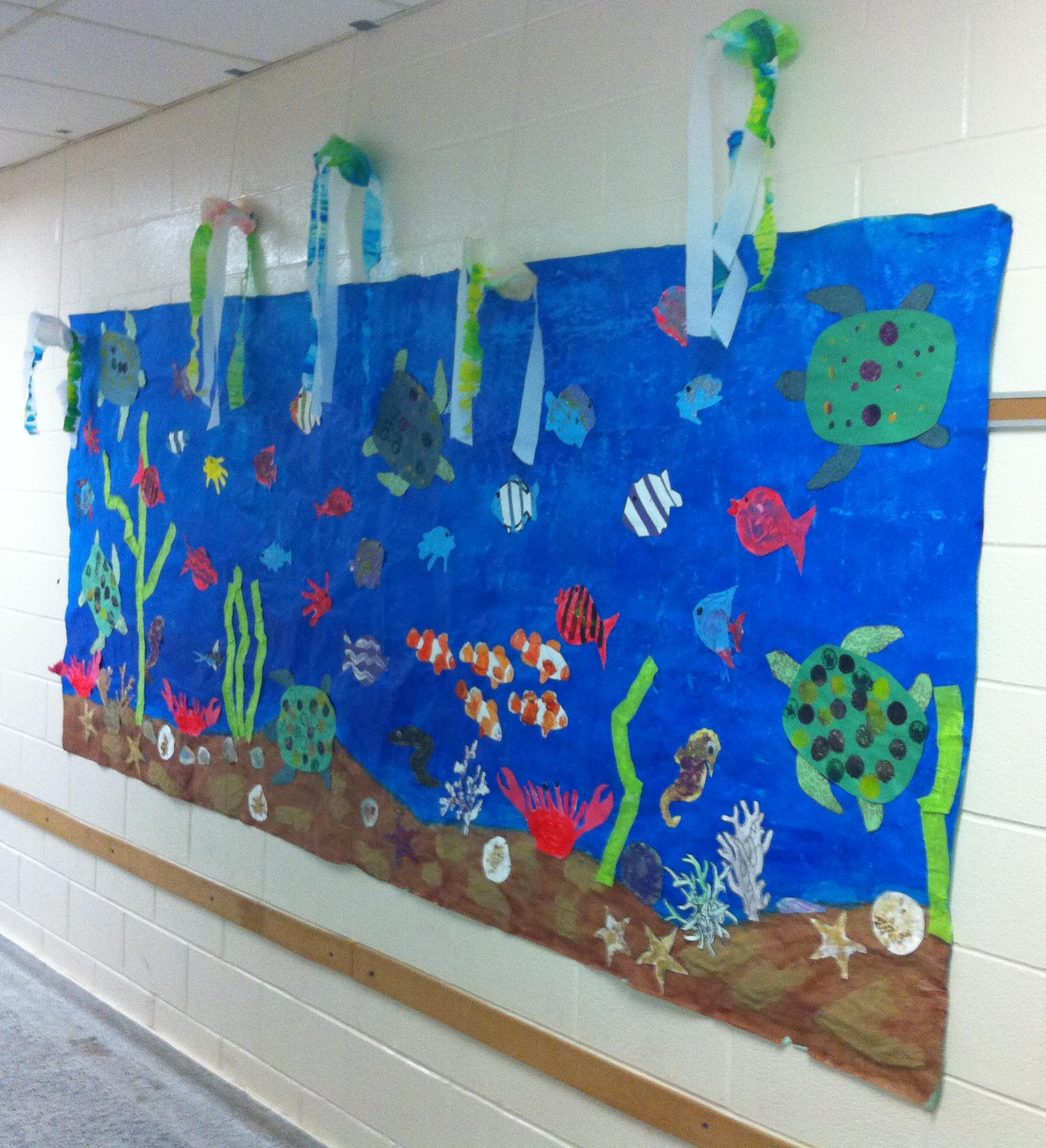 Arts and crafts sea life pictures to pin on pinterest for Sea life arts and crafts
